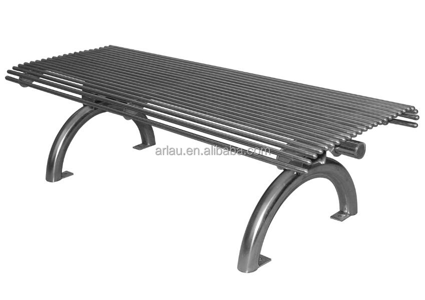 Fs61 Heavy Duty Cast Iron Leg Outdoor Stainless Steel Park Benches Buy Outdoor Stainless Steel