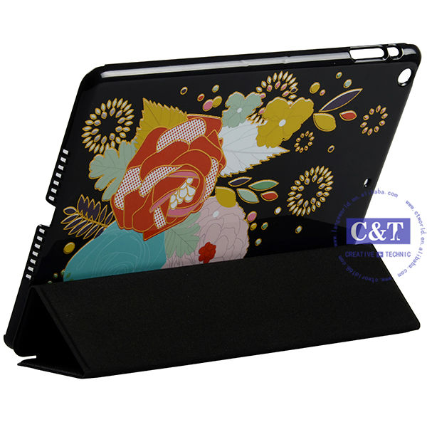 2014 collection custom rotating stand case for ipad 3