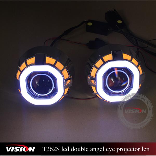 Vs T262s Led Headlight Bulb For Motorcycles Square Led