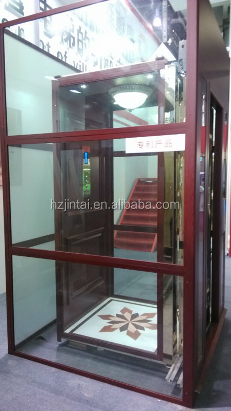 Residential elevator price cheap home elevator wooden for Indoor elevator
