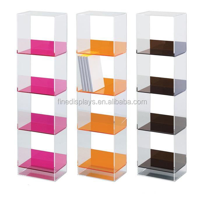 Wholesale Acrylic CD DVD racks shelves DVD acrylic storage ...