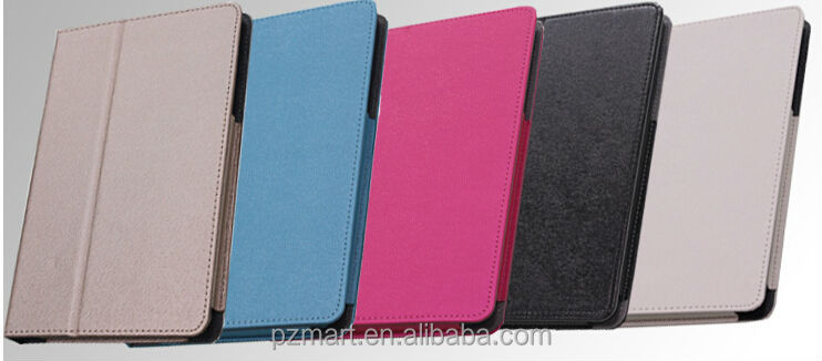 HD Leather Tablet Case For Lenovo pad A5500 Case