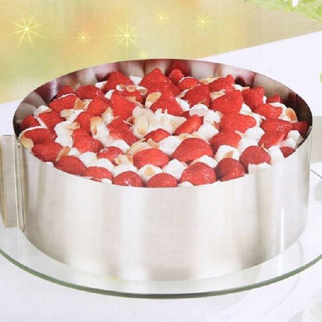 Регулируемая форма для торта из нержавеющей