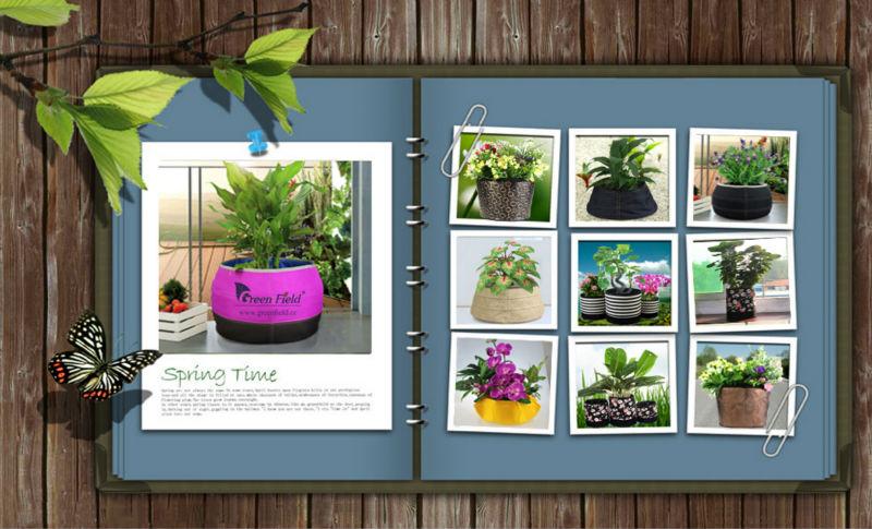 Green Smart Pots Green Field Hydroponic Smart