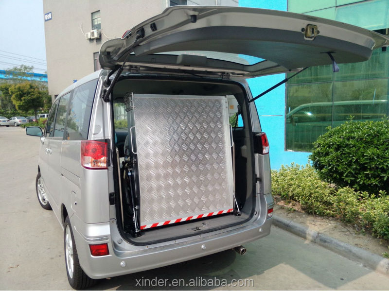 ramp for van and minivan loading 350kg view folding wheelchair ramp