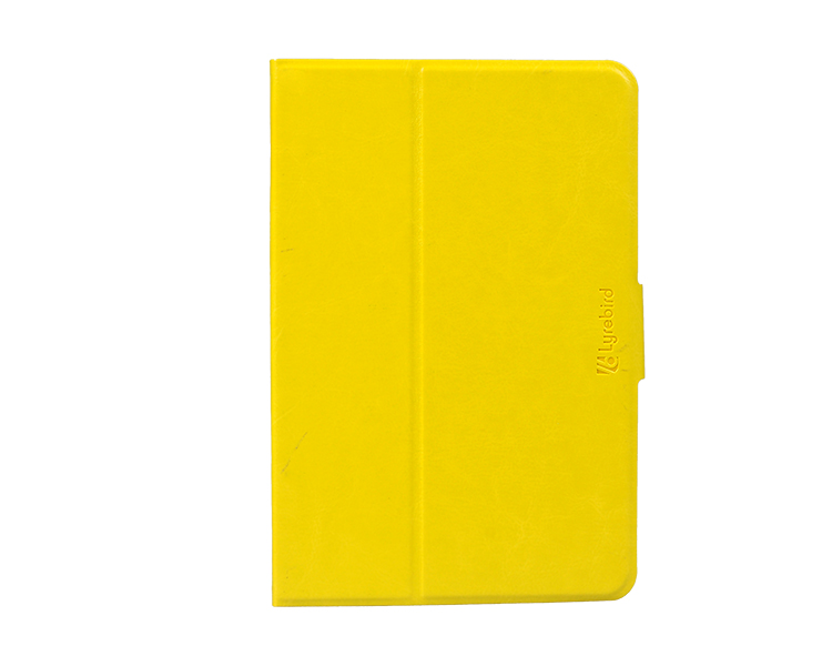 Factory leather skin 360 degree rotate stand case for ipad mini