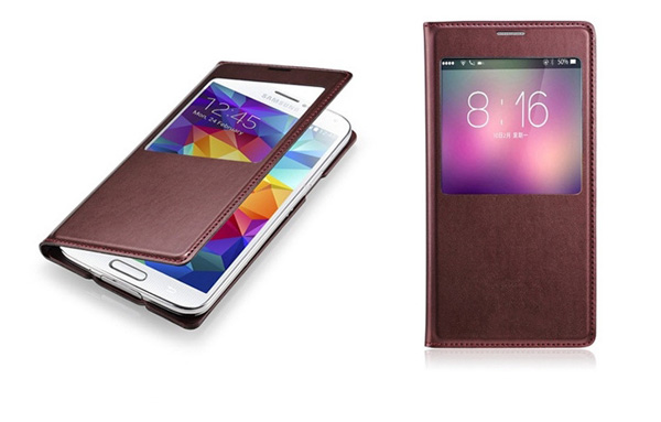 XFY 2014 Newest Products, IMD PU leather cases For Samsung galaxy s5