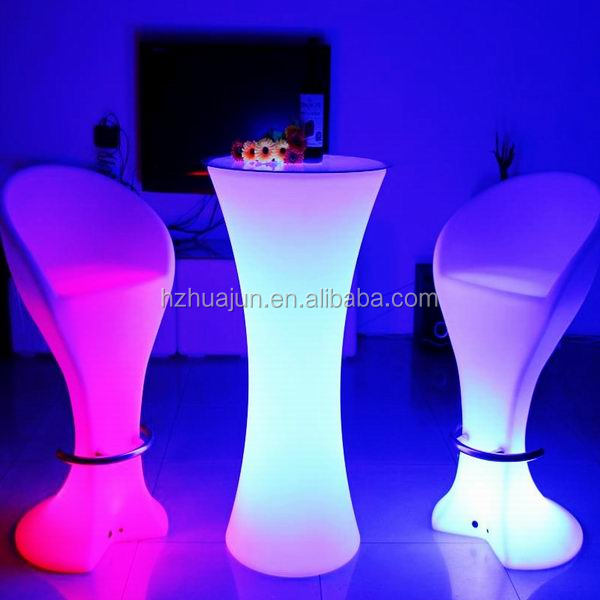 luminous bar table/portable bar table/stand up bar tables