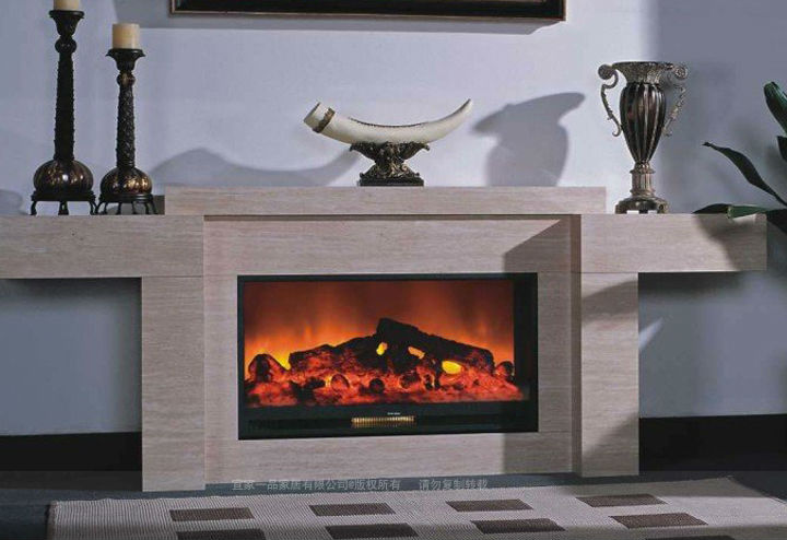 Two sided electric fireplace view two sided electric for Double sided fireplace price
