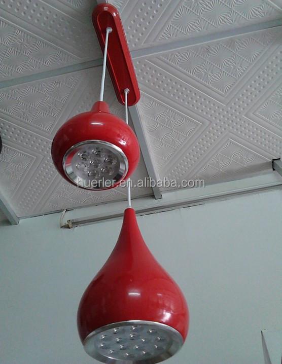 Vase geformt 12w hängelampen Wohnzimmer rot/schwarz/weiß/rot/gelb ...