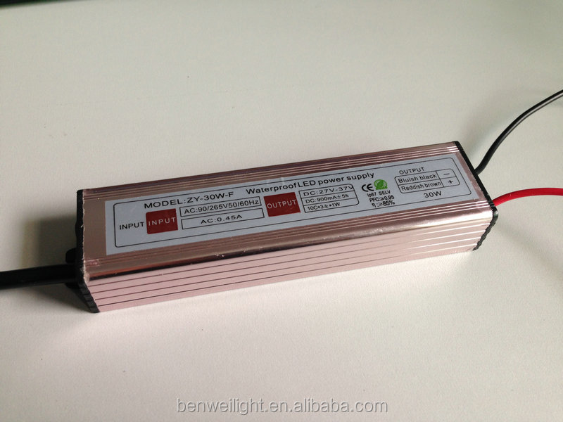 30w constant current led driver / led power supply