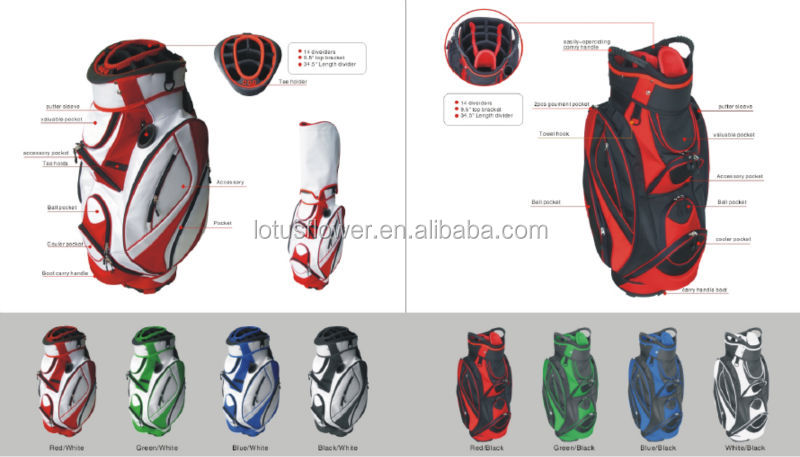 2015 Hot Selling Unique Golf Bag