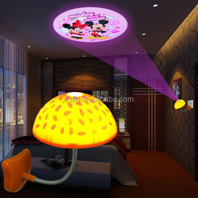 Vintage slaapkamer decoratie : Wholesale Romantic Mushroom table lamp ...