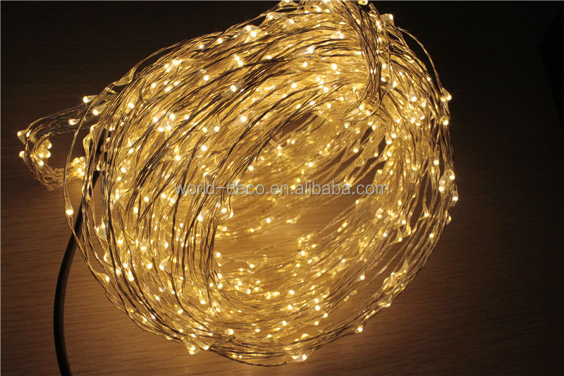 12v Micro String Lights / Battery Operated Led Copper Wire Fairy Light / Waterproof Led Mini ...