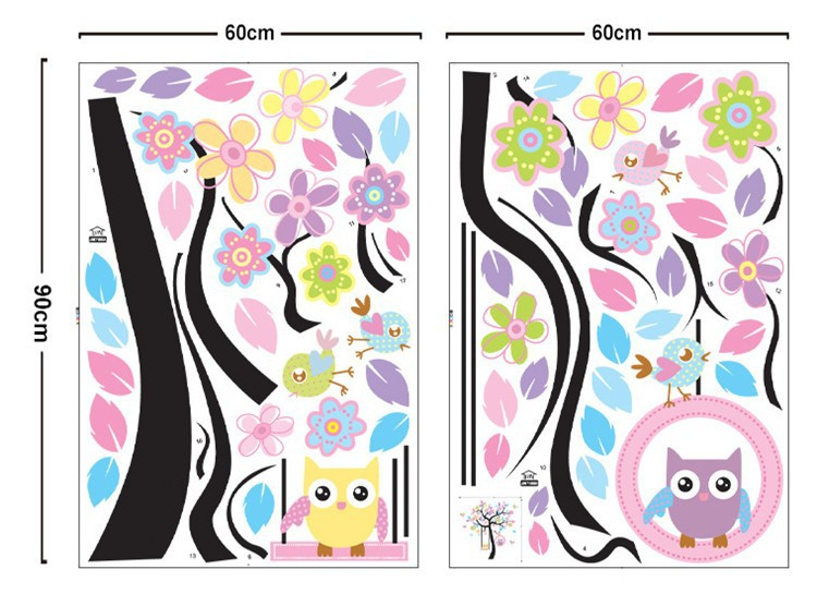 Стикеры для стен MyHome baby diy JM7186AB
