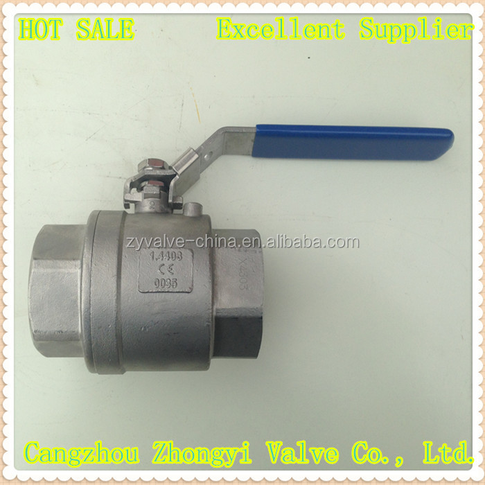 high quality stainless steel long stem ball valve