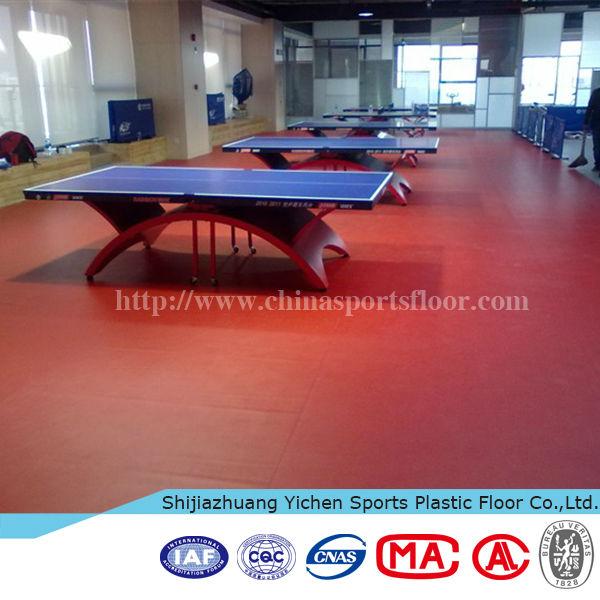 pvc sports flooring for futsal court