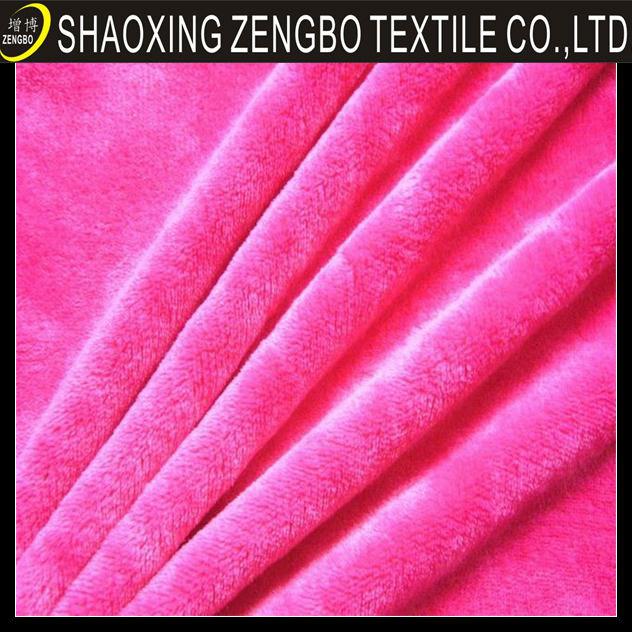 Algodão escovado tecido de lã, fios 100% de algodão tingido de flanela escovado tecido