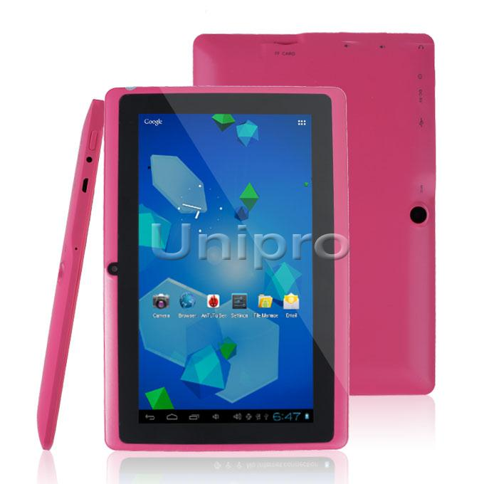 cheap Q88pro Allwinner A23 1.2GHz 7inch Android 4.4 3g tablet