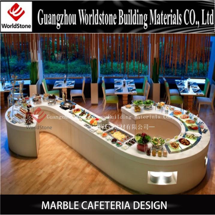 Guangzhou Salad Bar Buffet Counter Restaurant