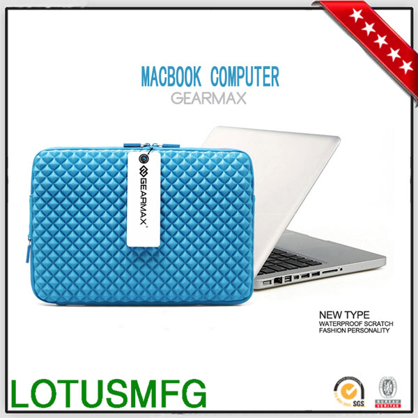 Flower Print Laptop Bags Sublimation Neoprene Laptop Sleeve for iPad Air Case