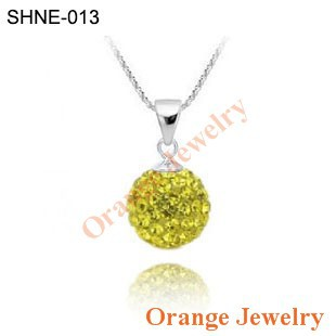 Ювелирная подвеска Orange Shamballa Shamballa SHPE-Mixcolor