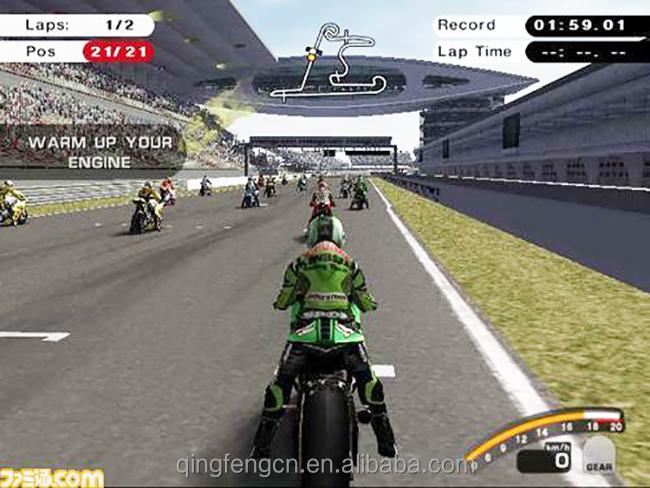gp motor simulator attack motor car racing game machine