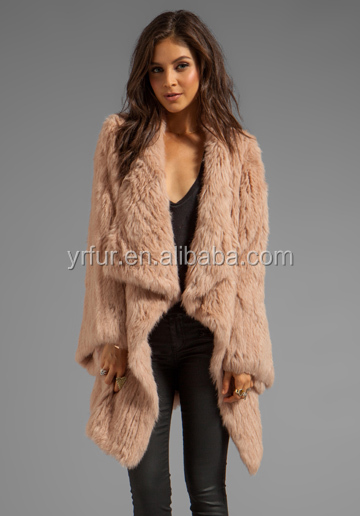 Abrigo piel conejo barato