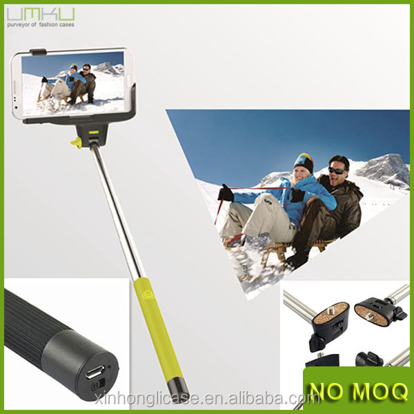 Cell Phone Accessories Mini Extendable Handheld Travel Monopod For Camera