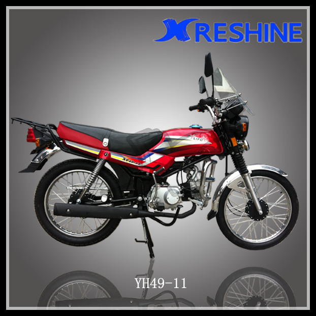 Chinese Mozambique motocicleta, engine 50cc 100cc Motorcycle for sale cheap (LIFO XY49-11)