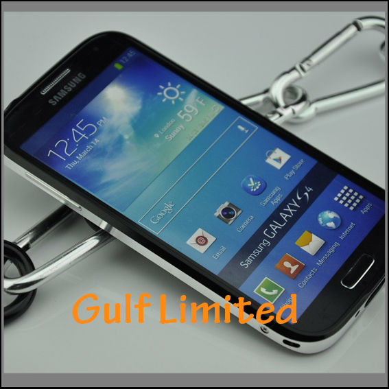 Metal aluminum bumper case for s4 mini samsung galaxy s4