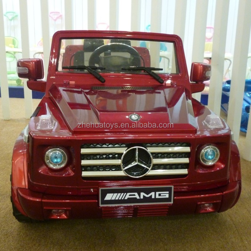 2014 newest updated 12v ride on amg g55 electric car for for Mercedes benz electric car for kids