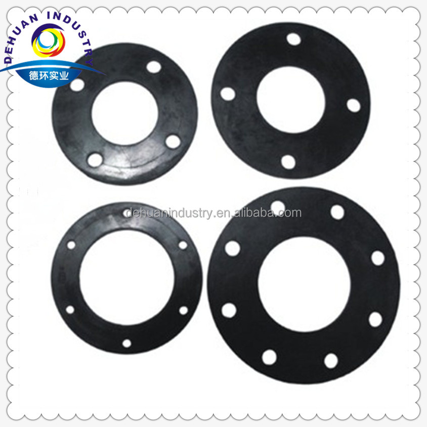 High quality neoprene rubber flange round gaskets