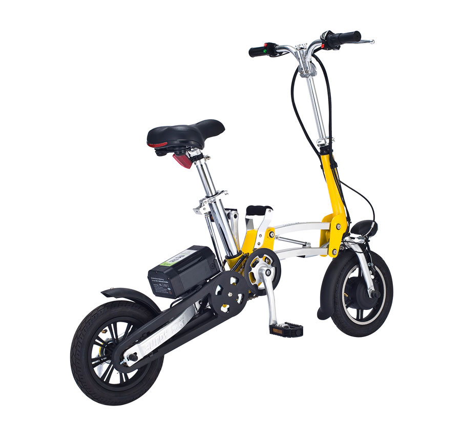 12 mini folding electric bicycle foldable bike cool in electric bicycle from sports. Black Bedroom Furniture Sets. Home Design Ideas