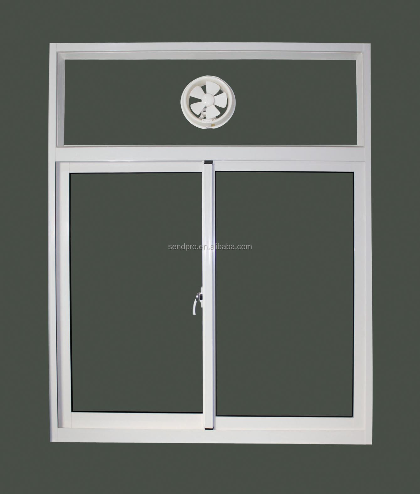 Sliding Door Ventilation : Exterior aluminum sliding glass window with ventilation