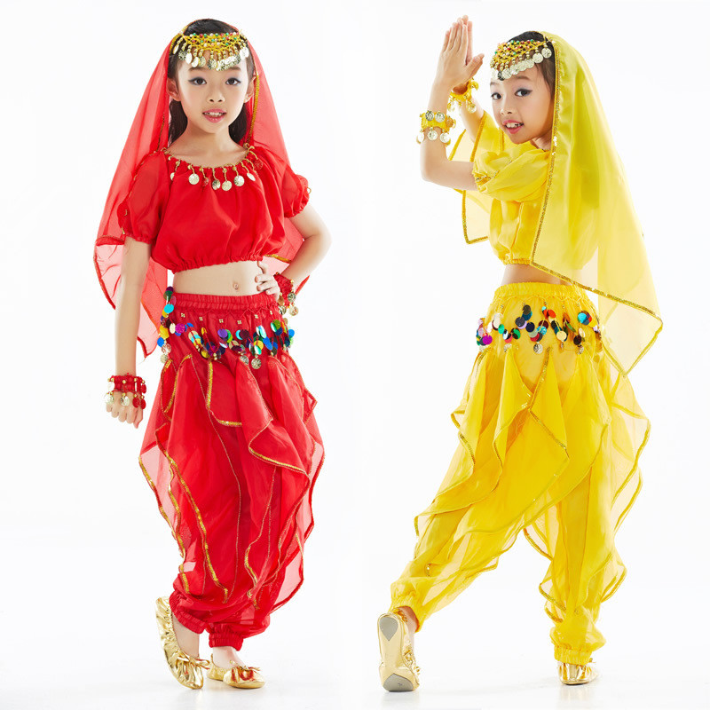 baby girls international children s day belly dance costumes suit