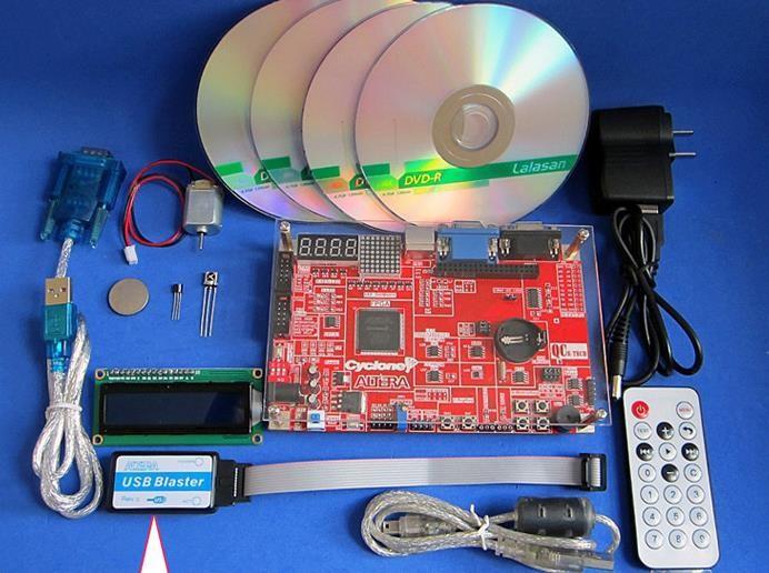 Free Shipping FPGA development board learning board evaluation board cyclone ep1c3t144c8n