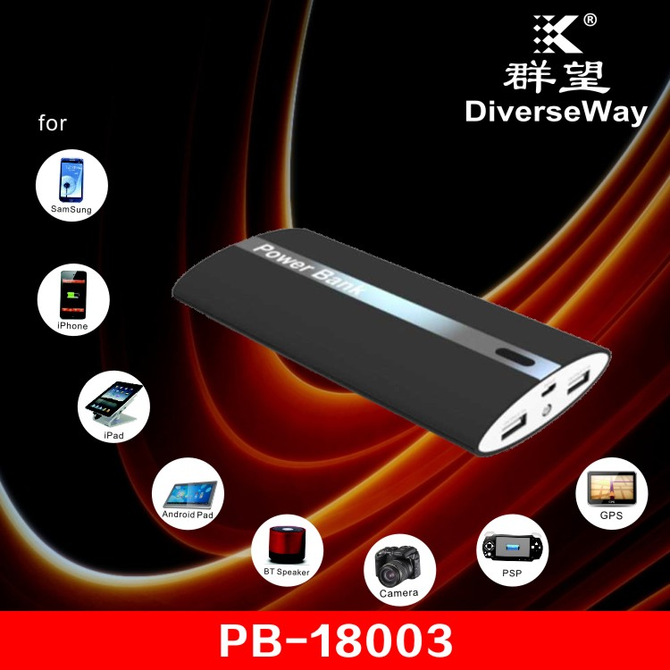 DiverseWay iwo p48 ultra thin 18000mah power bank PB-18003 power bank for macbook pro power bank 16000mah