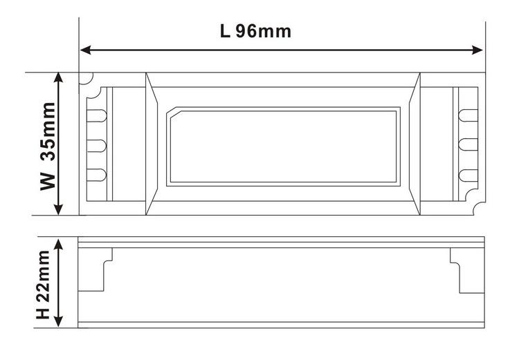 constant current led driver 600ma DC20-36v 20w led power supply, 3W,7w,10w,12w,20w,28w,30w,40w,50w,60w
