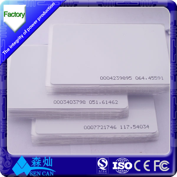 Blank RFID Card NFC Business card View Blank RFID Cards