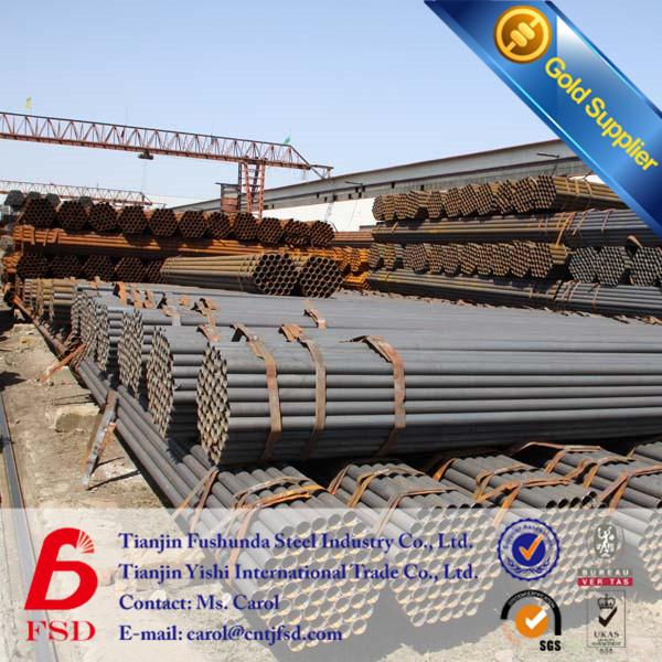 Manufacturer Weld Steel Pipe Black Welded Steel Pipe