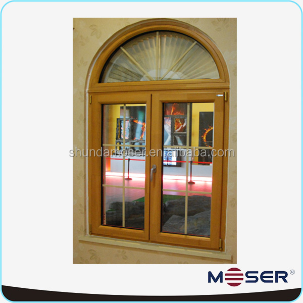 Turn And Tilt Double Glaze Arch Window Grill Design