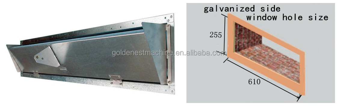 Galvanized Steel Inlet with Side Shields0_1_