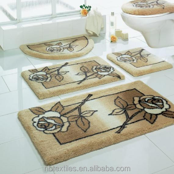 Piece Dolphin Sage Green Bathroom Bath Mat Set Images Frompo