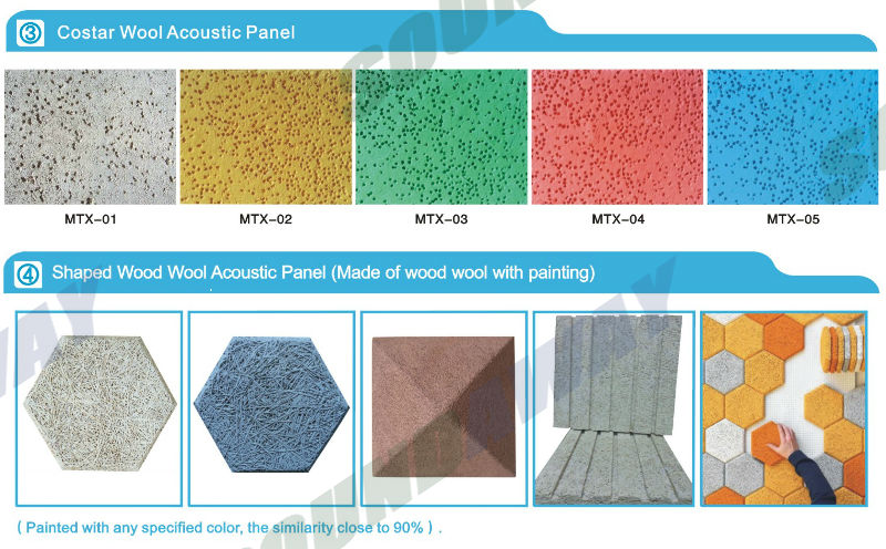Cement Board Tile Brand Names : Wood silk acoustic wall panels soundproof ceiling tile