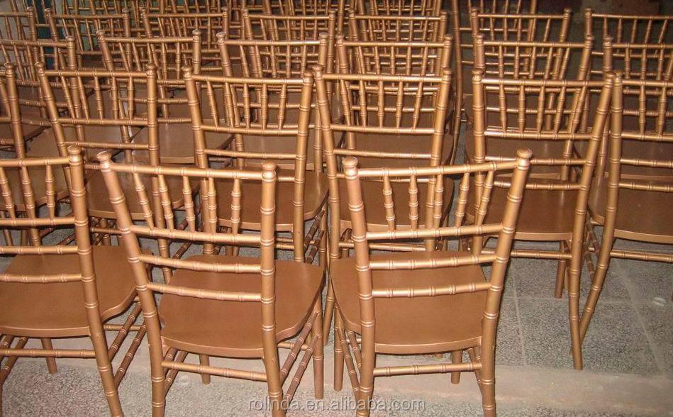 Fruitwood Chiavari Chairs Sale Luxury Golden Wood Wedding Chiavari Chair For Sale