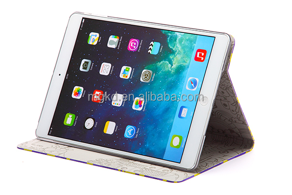 2014 newly pushing out MR.BOX PU leather case for apple ipad air