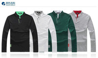 Новый стиль с короткими рукавами рубашки поло воротник Спорт плюс оригинальный одномачтовая ярдов приток мужчин