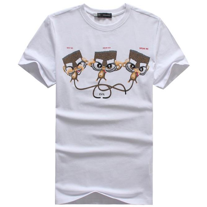 Мужская футболка Brand men t shirt 100% t Brand men's t-shirts