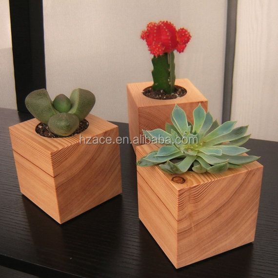 Little Wooden Plant Wooden Flower Holder Stand Pot Buy